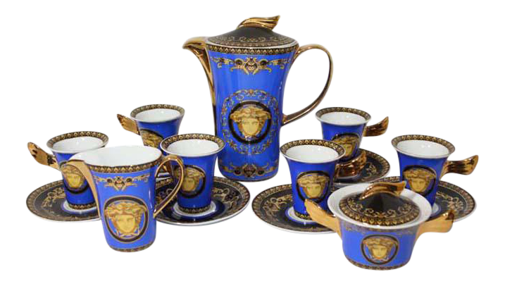 Rosenthal Versace Medusa Tea Service Set - Image 1 of 11  sc 1 st  Chairish & Rosenthal Versace Medusa Tea Service Set | Chairish